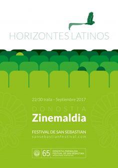Mentáfora  Composición de patio de butacas de cine simulando horizontes degradados a vista de pájaro Quetzal.