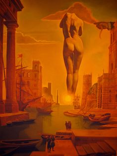 "tierradentro: "" Dali's Hand Drawing Back the Golden Fleece in the Form of a Cloud to Show Gala the Dawn, Completely Nude, Very Very Far Away Behind the Sun, Salvador Dalí 1978 """