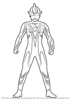 9 Gambar Fantastic Ultraman Coloring