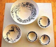 2013 Argilla France. International pottery fair. Porcelain