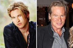 Val Kilmer: Then and Now Val Kilmer, Film Industry, Then And Now, Hot Guys, Eye Candy, Actresses, Memories, Actors, Celebrities