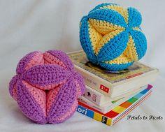 Ravelry: Baby Clutch Ball / Amish Puzzle Ball pattern by Kara Gunza