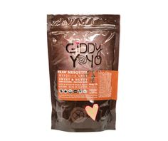 Giddy Yoyo raw organic MESQUITE is a delicious and nutritious powder with a sweet & nutty cinnamon molasses-like flavour with slight notes of caramel. #mesquite #superfood #healthy