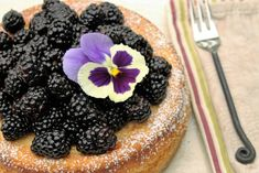 Ricotta Cheesecake with Blackberries   A Salad For All Seasons