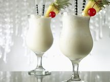 Frozen Pina Colada. Yes Please! #anthropologie #pintowin