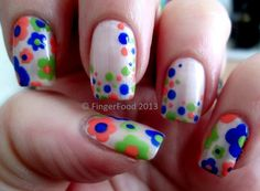 FingerFood #nail #nails #nailart