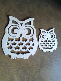 Owls Owl Stencil, Stencil Patterns, Wood Patterns, Owl Crafts, Paper Crafts, Animal Cutouts, Wood Centerpieces, Owl Canvas, Wood Owls