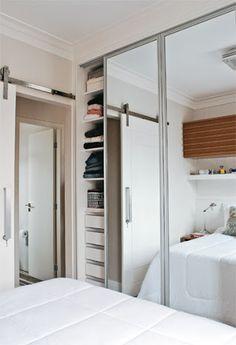 guarda roupa planejado casal quarto pequeno - Pesquisa Google