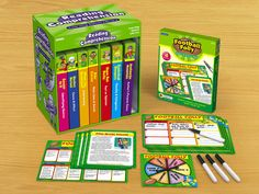 Reading Comprehension Instant Learning Games - Gr. 4-5  ***Already own- Borrowed regularly by my upper grade teachers- Reluctant readers beg to play them