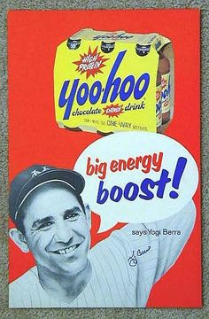 Carlstadt (Bergen County) - Like Taylor Ham, Yoo-Hoo is a New Jersey food creation. For years the chocolate drink was closely associated with Yogi Berra.