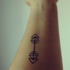 love the little geo tattoo designs. i think i need one