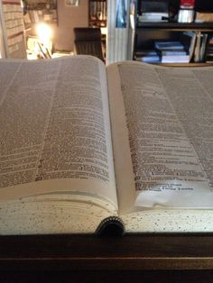 Esoteric tome, or giant dictionary? Both contain archaic knowledge. Life at Chaosium.