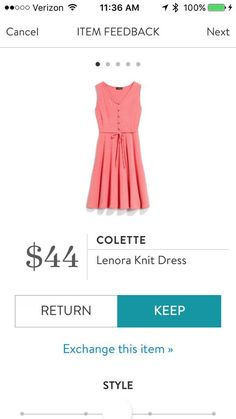 Stitch Fix Colette Lenora Knit Dress