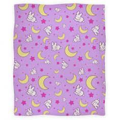 This adorable Sailor Moon blanket is overflowing with cuteness.