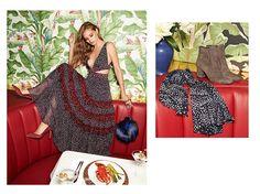 Diane von Furstenberg Alteesa Cutout Dress, Love Power Fur Puff Mini Bag and Lille Pumps