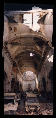 Before. Sant Francesc Church Reinvented by David Closes, Santpedor, Spain