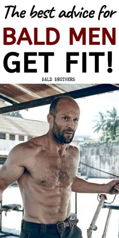The best balding advice I can give any bald men is that you need to start working out and looking fit! The is my number one piece of balding advice! Workout Plan For Men, Workout Routine For Men, Ab Workout At Home, At Home Workouts, Men Exercise, Workout Men, Ab Workouts, Exercises, Men's Health Fitness