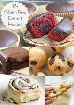15+ Amazingly Delicious Gluten Free Dessert Recipes - diycandy.com