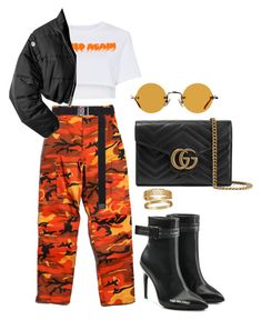 """""""untitled #41"""" by loumpixe on Polyvore featuring mode, Heron Preston, Rothco, Alyx, 3.1 Phillip Lim, Off-White, Gucci, Hakusan et Cartier"""