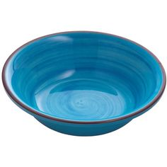 MARIO LUCA GIUSTI Saint Tropez Set Of 6 Bowls (195 CAD) ❤ liked on Polyvore featuring home, kitchen & dining, dinnerware, blue, blue bowl and blue dinnerware