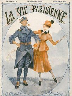 La Vie Parisienne, Samedi 8 Avril 1916 ~ Georges Léonnec