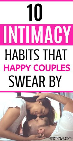 10 Intimacy habits that happy couples swear by. Use these marriage tips and marriage advice to help your relationship. Healthy Relationship Tips, Healthy Marriage, Marriage Relationship, Marriage Tips, Happy Marriage, Healthy Relationships, Sexless Marriage, Intimacy In Marriage, Failing Marriage