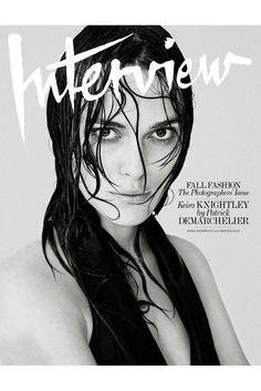 Patrick Demarchelier's cover featuring Kiera Knightley. [Courtesy Photo]