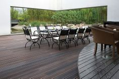 Bamboo Decking by dassoXTR is the superior choice for all exterior bamboo decking applications and has been used worldwide in many commercial and residential projects. Bamboo Decking, Outdoor Furniture Sets, Outdoor Decor, Exterior, Home Decor, Decoration Home, Room Decor, Outdoors, Interior Decorating