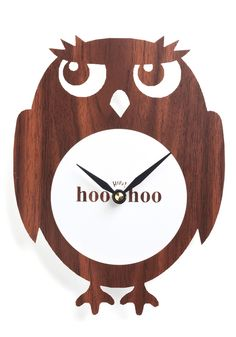 Hoo Has The Time? Clock Owls. Pinned for BabyBump, the #1 mobile pregnancy tracker with the built-in community for support and sharing.