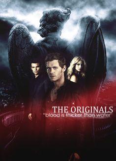 The Originals - Klaus (Joseph Morgan), Rebekah (Claire Holt) and Elijah (Daniel Gillies) Originals Season 1, The Originals Tv Show, Vampire Diaries Spin Off, Vampire Diaries The Originals, Original Vampire, Series Premiere, Vampire Dairies, Mystic Falls, Joseph Morgan