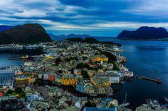 Fotografía Ålesund por Arve Sirevåg en 500px