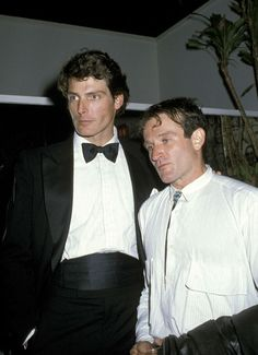 Robin Williams and Christopher Reeve. Both gone too soon...RIP