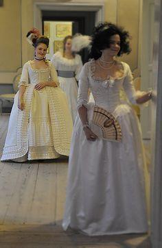 1790s ballgown