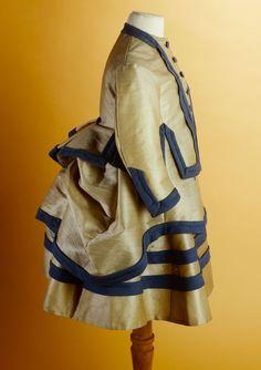 Child's dress, 1865-75.