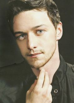 James McAvoy; Amazing actor and I love every role you play.  Your lovely blue eyes drown me into your love!