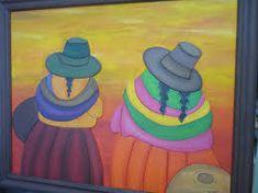 Resultado de imagen para cuadros cholitas