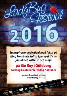 "Bluestocking 2016 shorts ""Vainilla"" (dir. Juan Beiro) and ""Start The Invasion Without Me"" (dir. Eve Edelson) will screen in Sweden in October at LadyBug Festival."