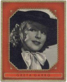 1930's Bunte Filmbilder Greta Garbo