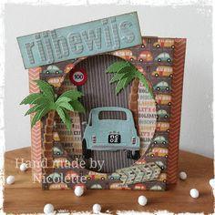 Made by Nicolette Away We Go, Marianne Design, Advent Calendar, Let It Be, Holiday Decor, Frame, Cards, Handmade, Dutch