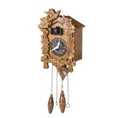 nice Kendal Handcrafted Wood Cuckoo Clock
