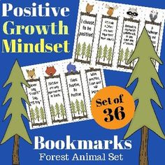 Here Are 36 Positive Growth Mindset Bookmarks For Your Students Included 1