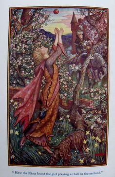 From The Lilac Fairy Book by Andrew Lang, c 1910.