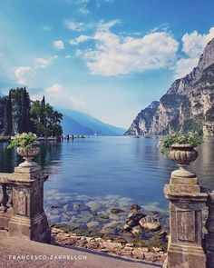 Courtesy of Admins: Riva Del Garda Italy Tag your best travel photos with Wonderful Places, Beautiful Places, Beautiful Scenery, Places To Travel, Places To Visit, Riva Del Garda, Italian Lakes, Destination Voyage, Seen