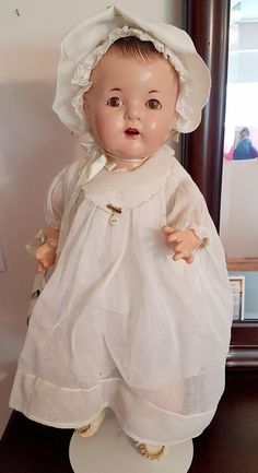 """Anitque Madame Alexander Composition Doll Dionne Quintuplet LARGE 24"""" Cecile 30s 