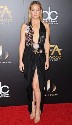 Kate Hudson in Marchesa attends the Hollywood Film Awards. #bestdressed