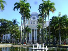 Vista da Praça da República em Recife.