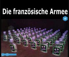 Die französchische Armee - Kleiner Feigling Lustig