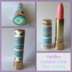 Vintage Yardley London Look Pink-A-Dolly Lipstick. This is from my personal collection.