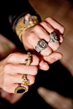 どれが、好きですか?| Men's Jewelry & Accessories-メンズアクセサリー-