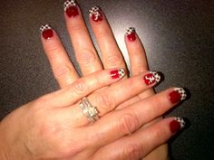 Glittericity: Alabama Crimson Tide Nails